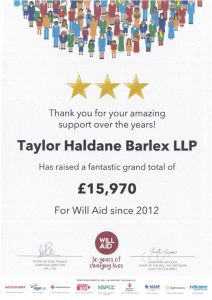 THB Willaid Certificate